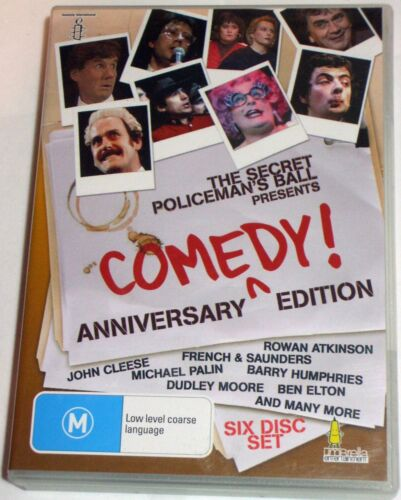 The Secret Policeman's Ball : Anniversary Edition - 6x R0 DVDs - posted
