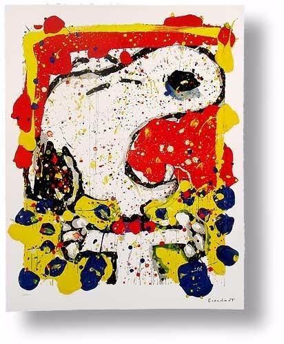 Squeeze The Day - Friday by Tom Everhart, Ltd Edition Lithograph w/ COA