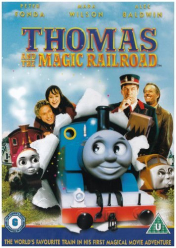 Mara Wilson, Russell Means-Thomas and the Magic Railroad DVD NEW