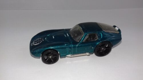 Voiture hot wheels shelby cobra daytona 59 1/64
