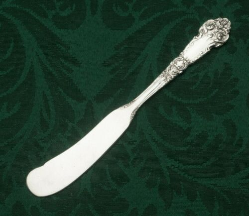 """French Renaissance by Reed & Barton Sterling Flat Butter Spreader 6 1/8"""""""