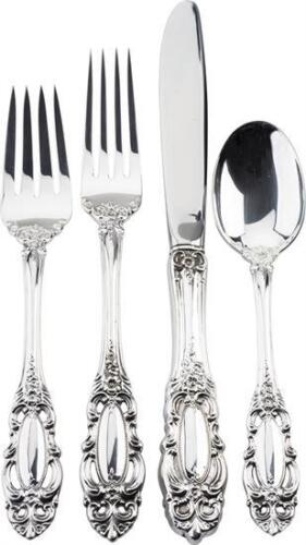 Grand Duchess by Towle Sterling Silver 4 piece DINNER SIZE Place setting