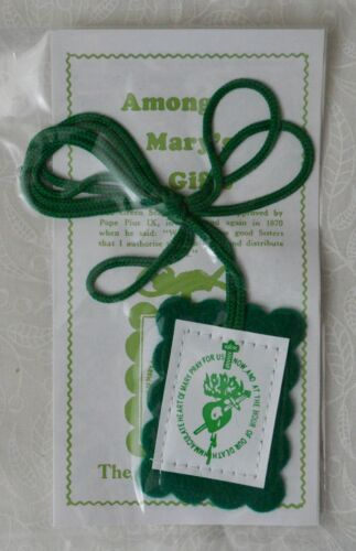 Green Scapular and Leaflet - Tracked Postage