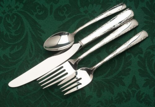 Camellia by Gorham Sterling Silver individual 4 Piece DINNER SIZE Setting