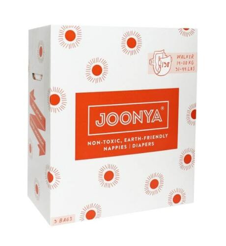 Joonya Nontoxic Disposable Baby Nappies walker - Bulk 138 Box- Soft Eco Friendly