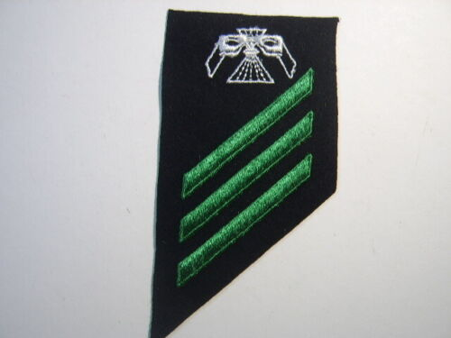 USN STRIKER RATE INSIGNIA -PHOTOGRAPHIC INTELLIGENCEMAN - E3  :KY19-3Other Militaria - 135