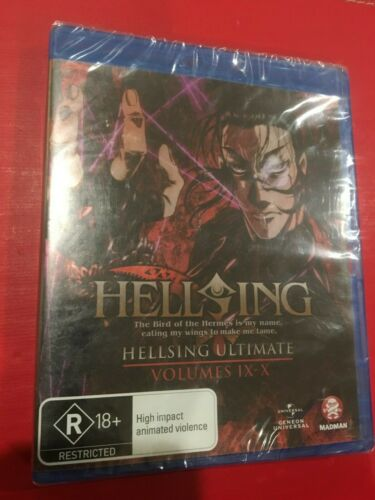 Hellsing Ultimate : Collection 3 : Eps 9-10 ( Blu-ray )  Region B , Brand New!