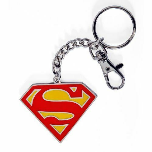 DC Comics Superman Colour Logo Collectable Keychain Keyring - Justice League