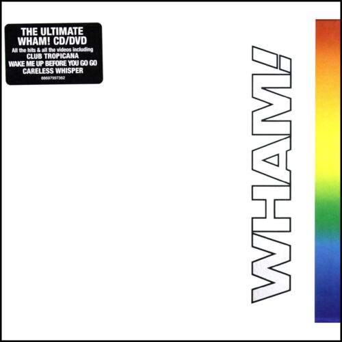 WHAM (CD + DVD) THE FINAL ~ GREATEST HITS~BEST OF ~ GEORGE MICHAEL *NEW*