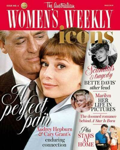 Australian Women's Weekly Special Issue 6 ICONS - Audrey Hepburn & Cary Grant