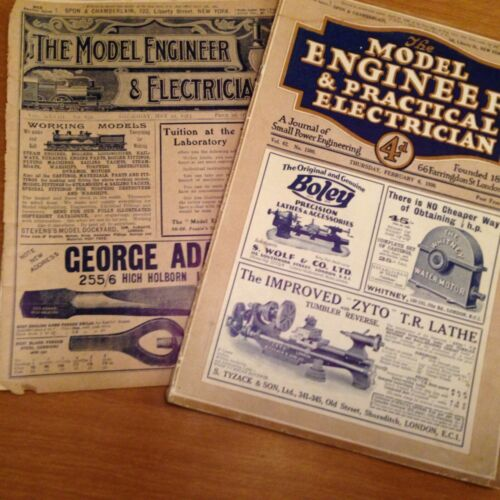 THE MODEL ENGINEER AND ELECTRICIAN Antique Vintage Magazine