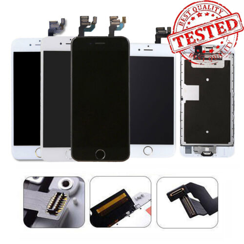 For iPhone 7 6 6s 8 Plus 6 LCD Display Complete Screen Replacement Home Button