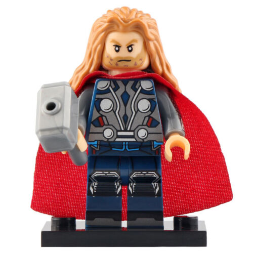 Gift For Kids Marvel Fire Demon Villain of Thor Lego Moc Minifigure Surtur
