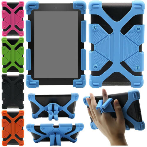 """For Samsung Galaxy 7.0"""" - 10.5"""" Tablets Kids Safe Shockproof Silicone Case Cover"""
