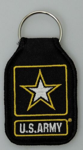 US Army Health And Services Command Embroidered Keychain