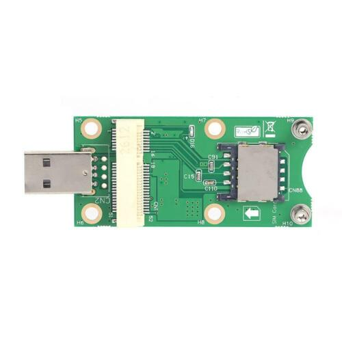 Mini PCI-E to USB Adapter with SIM 8 Pin Card Slot for WWAN/LTE Module #JT1
