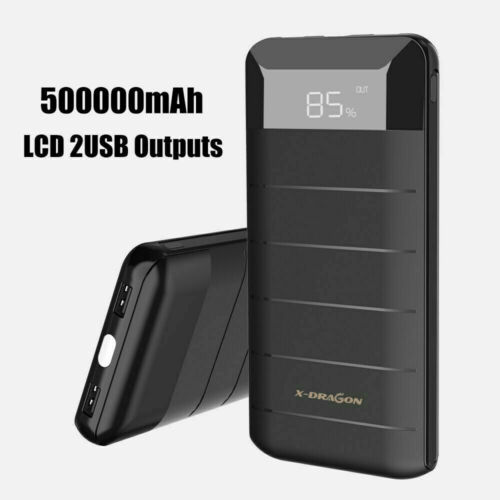 300000mAh Portable Power Bank External LED LCD Battery Charger Backup for Phone