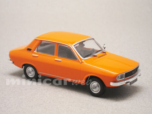 RENAULT 12 FACELIFT ORANGE, voiture miniature 1/43e ODEON 039