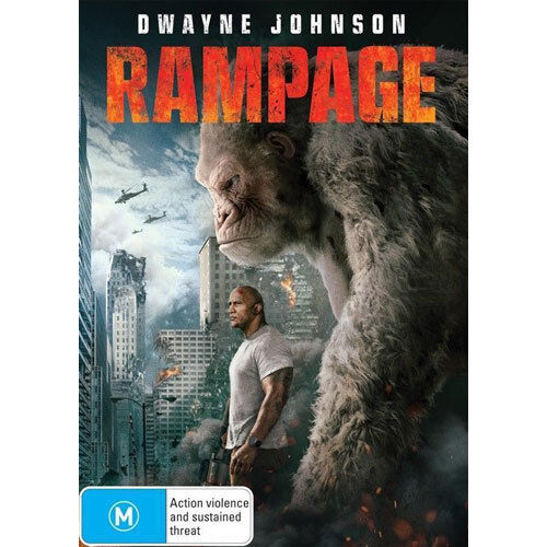 Rampage (2017) DVD NEW (Region 4 Australia)