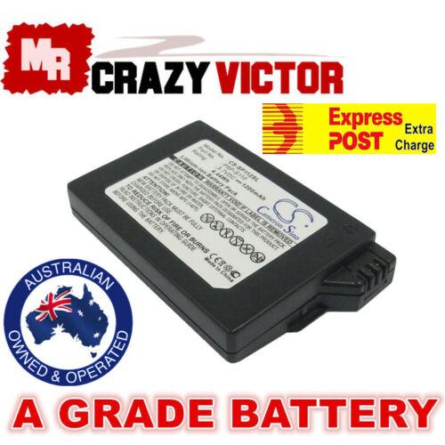 1200mAh Rechargeable Battery For Sony PSP-2001 2002 2003 2004 2005 2006 PSP-3002