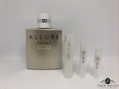 Allure Homme Edition Blanche By Chanel - Choose Your Sample 2ml, 3ml or 5ml