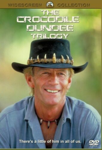 Crocodile Dundee trilogy 1 2 & 3 DVD Paul Hogan New and Sealed