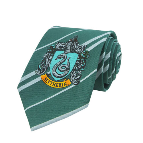 Harry Potter Slytherin Necktie - Cravatta Serpeverde CINEREPLICAS