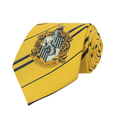 Harry Potter Hufflepuff Necktie - Cravatta Tassorosso CINEREPLICAS