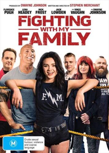 Fighting With My Family (DVD, 2019) Region 4