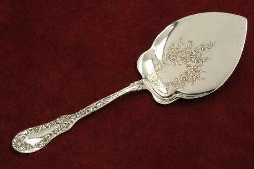 No. 10 by Dominick & Haff Sterling Silver all silver Pastry Server 9.75""