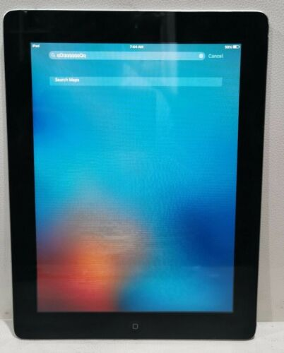 "Apple Ipad 2 16GB Wifi A1395 9.7"" 0.7MP 512MB Working/Touchscreen ghost touch"