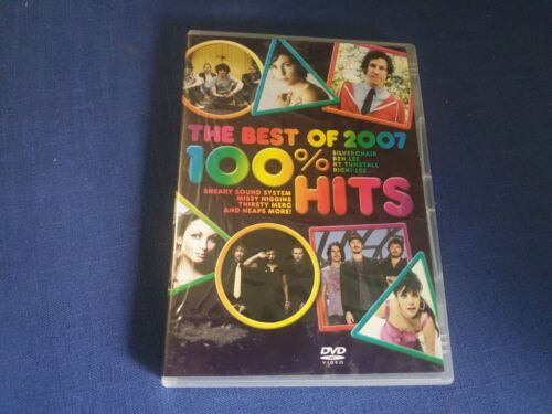 The Best of 2007 100% Hits - DVD - Region 4