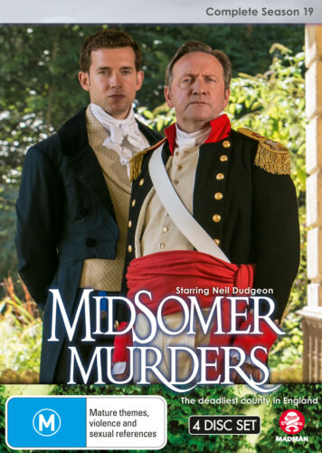 MIDSOMER MURDERS: Complete Season 19 (SINGLE CASE VERSION) DVD NEW