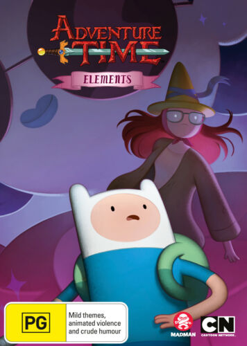 ADVENTURE TIME (COLLECTION 14): ELEMENTS MINISERIES DVD NEW