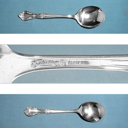 """EASTERLING STERLING 6 3/8"""" CREAM SOUP SPOON(S) ~ AMERICAN CLASSIC ~ NO MONO"""