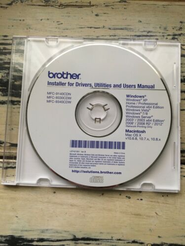 Printer Brother Install Software CD for Windows Mac PC