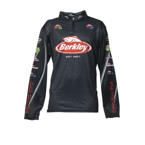 Berkley Performance Tech Jersey Black Long Sleeve 2019 BRAND NEW @ Ottos Tackle