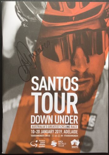 Anna Meares SIGNED Tour Down Under 2019 Programme. Olympics. Cycling Bike. Sagan