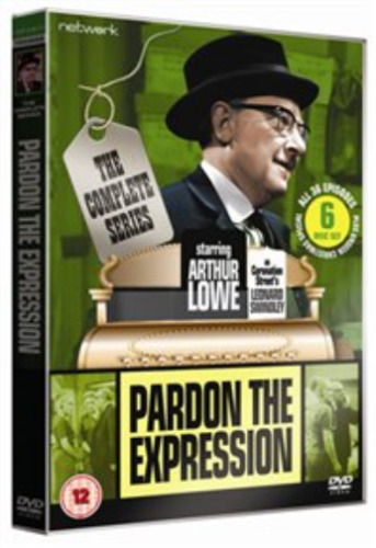 Arthur Lowe, Betty Driver-Pardon the Expression: The Complete Series DVD NEW