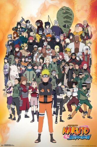 Naruto - Character Collage Poster - 22x34 - 17948