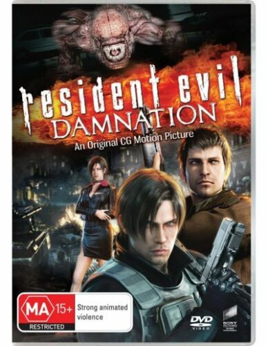 Resident Evil: Damnation DVD NEW (Region 4 Australia)
