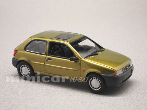 FORD FIESTA 1995 COULEUR OR, voiture miniature 1/43e MAXICHAMPS 940085060
