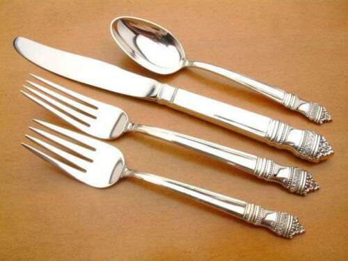 Danish Baroque by Towle Sterling Silver flatware 4 piece Place Setting
