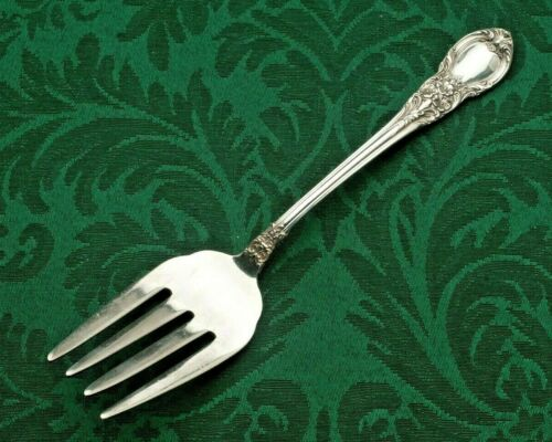 """American Victorian by Lunt Sterling Large Meat Fork 8.75"""""""