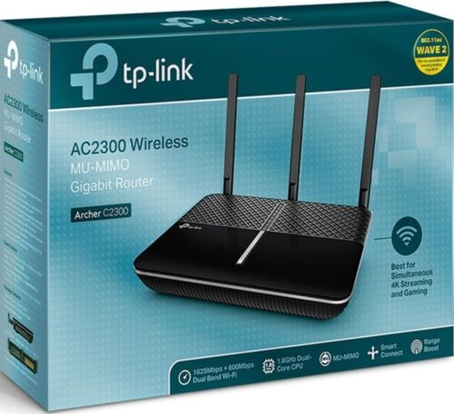 TP-Link Archer C2300 Dual Band AC 2300Mbps Wireless Gigabit Router USB 3.0 Share