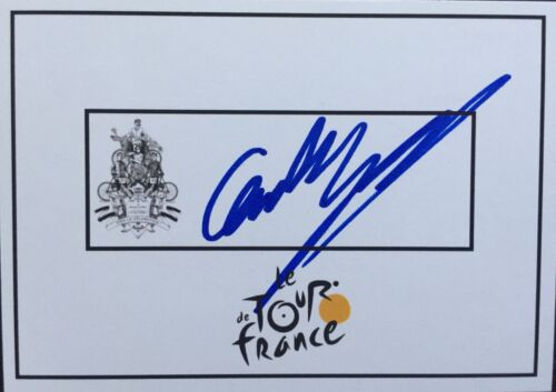 Cameron Meyer SIGNED Tour de France cycling card. Tour Down Under. Bike. Bicycle