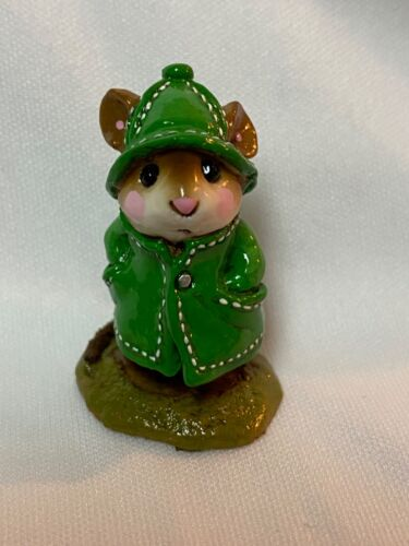 Wee Forest Folk Retired Green April Showers