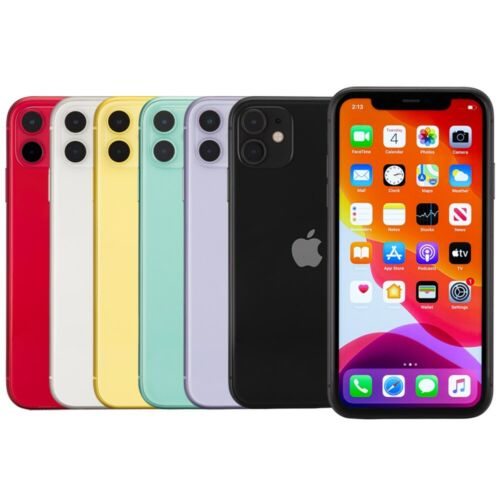Top Holiday Gifts Apple iPhone 11 Smartphone 64GB 128GB AT&T Sprint T-Mobile Verizon or Unlocked