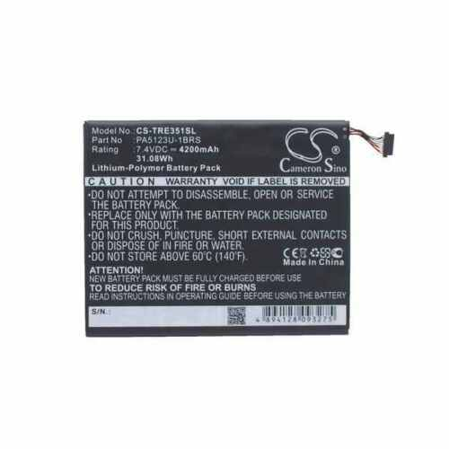 Battery For TOSHIBA AT10LE-A-108