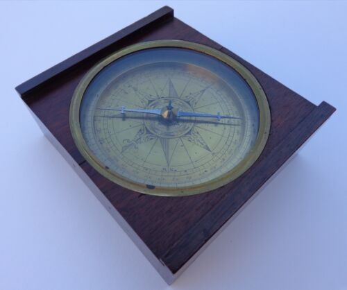 Extremely Rare La 17th Early 18th Century Z Dutch Netherlands Marine Compass 🐟